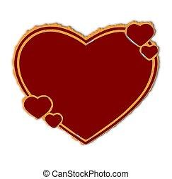 Herz - herz, rot, grafik