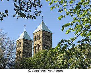 Herz-Jesu-Church in Osnabrueck, Lower Saxony, Germany