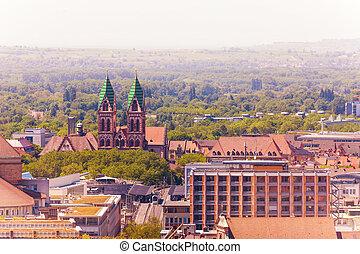 Herz-Jesu-Kirche in Freiburg im Breisgau, Germany - Freiburg...