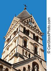 Herz Jesu Kirche in Innsbruck - Bell tower of Herz Jesu...