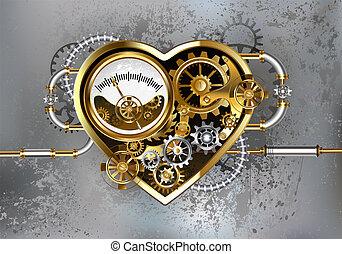 herz, manometer