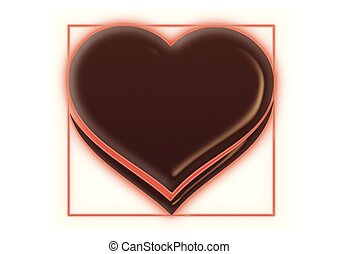 Herz, Rahmen - herz, rahmen, color, grafik