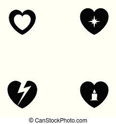 herz, satz, ikone