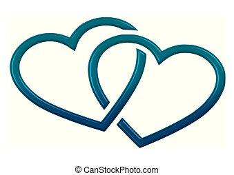 Herzen - herzen, color, grafik