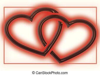 Herzen - herzen, muster, grafik
