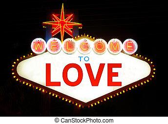 herzlich willkommen, liebe