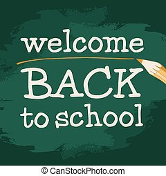 herzlich willkommen, zu, schule