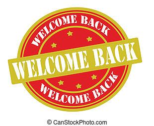 herzlich willkommen, zurück