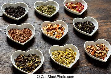 herzschalen, teesorten