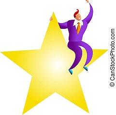 he's, stjärna