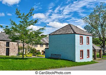 Hesket Newmarket village.