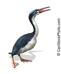 Hesperornis - Prehistoric Bird - The Hesperornis was a...