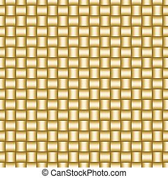 Seamless pattern of the hessian fabric texture