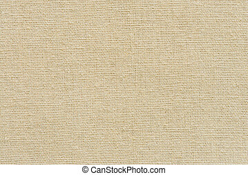 Hessian sackcloth woven texture pattern background in yellow...