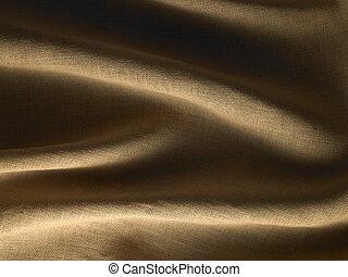 Hessian Textile Background