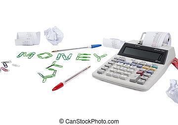 het berekenen, geld
