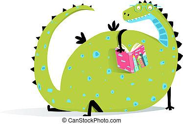 het boek van de lezing, draak