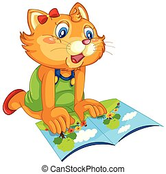 het boek van de lezing, kat