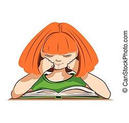 het boek van de lezing, kind