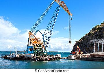 het bouwwerk, in, porto