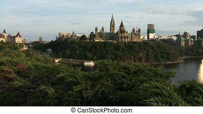 het canadese parlement, ottawa