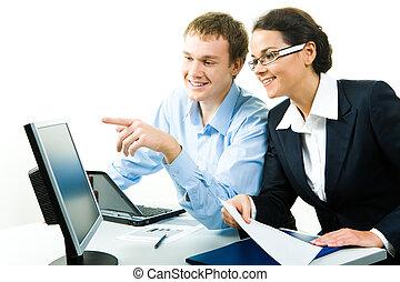 het computerwerk