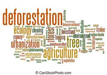 het deforesting
