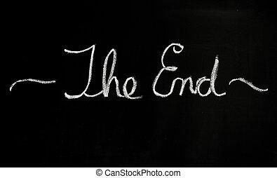 het eind