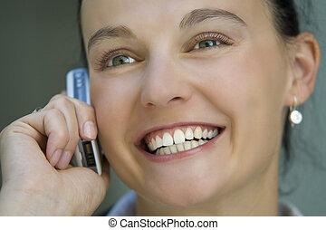 het glimlachen, communicatie