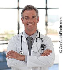 het glimlachen, mondige arts