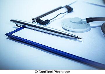 het handhaven, medische verslagen