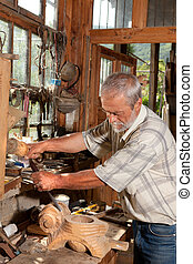 het houten werken