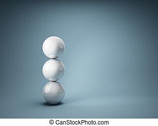 het in evenwicht brengen, gelul