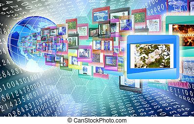 het internet, opleiding