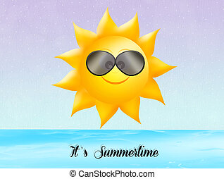 het is, summertime