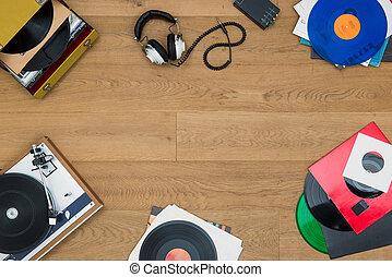 het luisteren, om te, vinyl legt vast