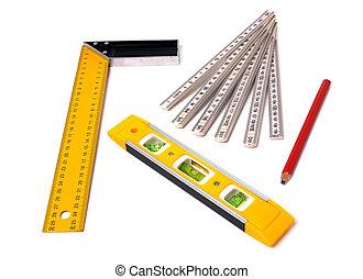 het meten gereedschap