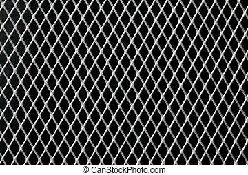 het net van het metaal, achtergrond
