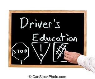 het onderwijs van bestuurder