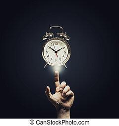 het overgaan van tijd