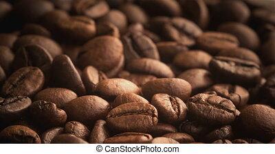 het roosteren, koffie bonen
