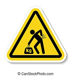 het tilen, achtergrond, illustratie, meldingsbord, gevaar,...