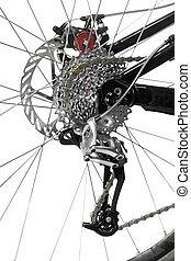 het toestel van de fiets