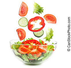 het vallen, groentes