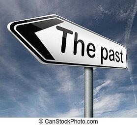 het verleden