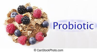 het voeden, concept, probiotic