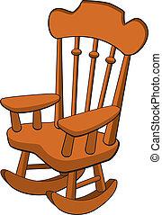 het wiegen stoel