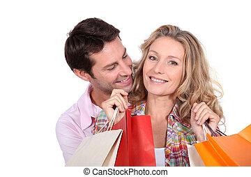 het winkelen reis