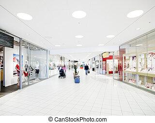 het winkelen wandelgalerij