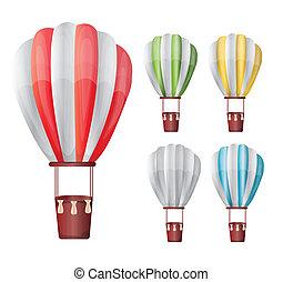 hete reeks, balloon, lucht